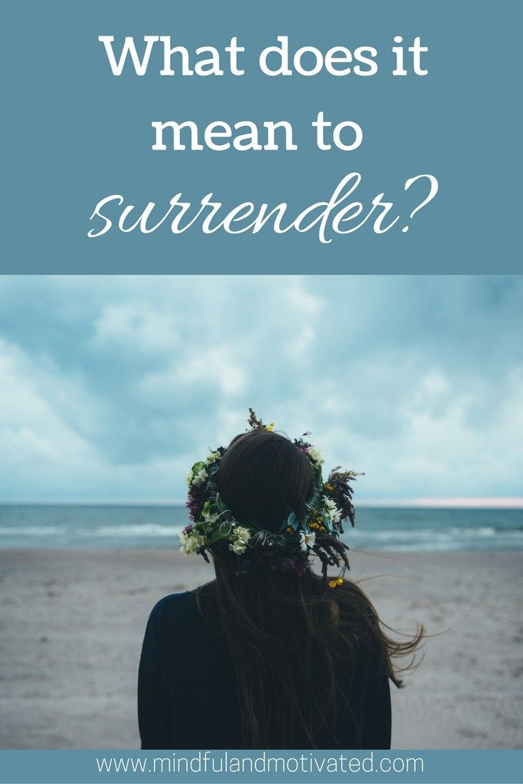 Just give it up to God. Surrender. Let it go. That sounds lovely but if you don't know how to do it, it's just words that make you feel more stressed. So, how do you actually let go? An…