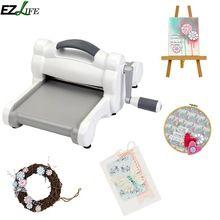 EZLIFE DIY Scrapbooking Die Cutting Machine Embossing Steel Machine Scrapbooking Cutter Die Cut Paper Cutter Die-Cut Machine New(China)