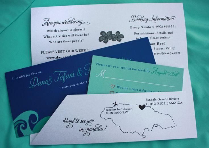Jamaica Wedding Invitations: 48 Best Images About Wedding Templates Destination Wedding