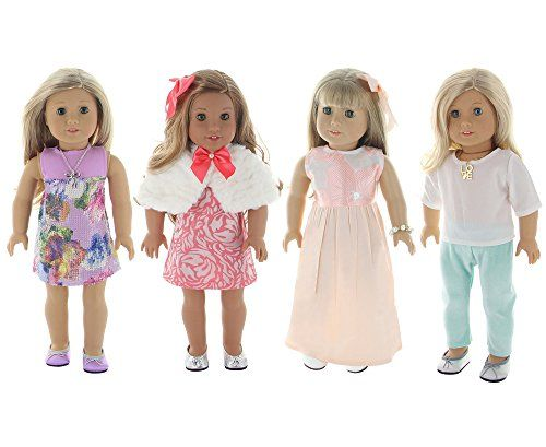 Unforgettable Gift! Want to present your daughter with something magical this holiday season? With this collection featuring hand designed outfits and accessories your child gets to celebrate the ...