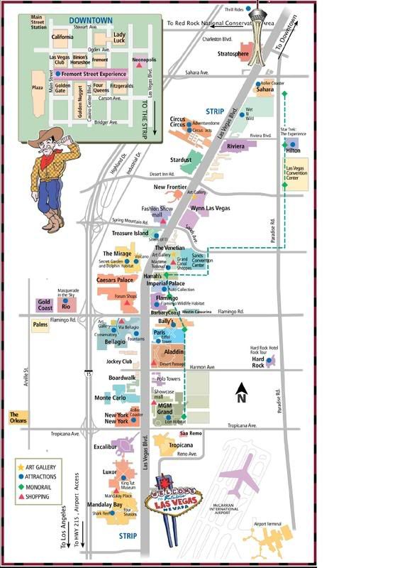 Best 25 Las Vegas Strip Map Ideas On Pinterest: Downtown Grand Las Vegas Map At Infoasik.co