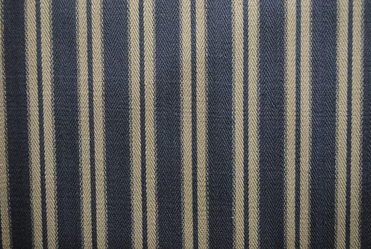Toulouse Stripe - Blueberry
