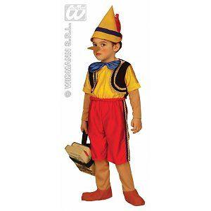 Kleine Pinokkio kostuum