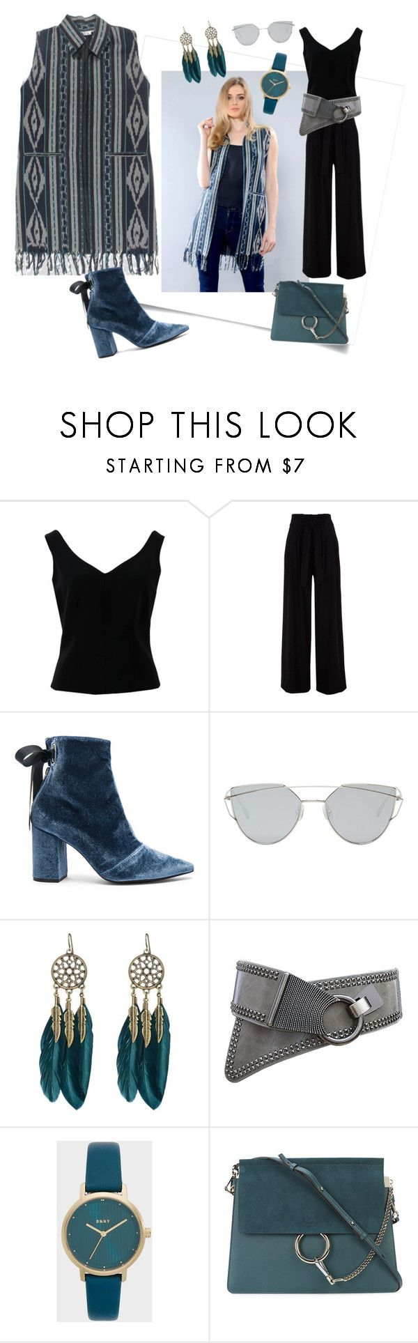 """""""Tradition to Urban"""" by kanzicollection on Polyvore featuring ADAM, self-portrait, Gentle Monster, WithChic, Chloé and modern"""