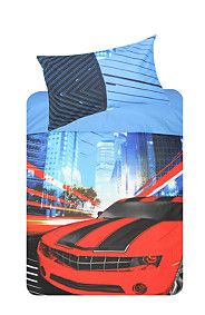 DRIFTING CARS DUVET COVER SET