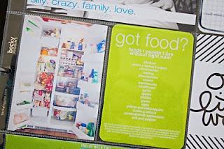 love the fridge idea + list.