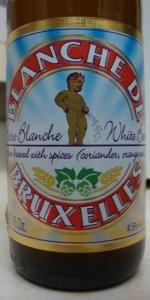 Blanche De Bruxelles / Manneken Pis Belgian White / Brasserie Lefèbvre SA  (Rebecq-Quenast, Belgium)      Witbier | 5% ABV