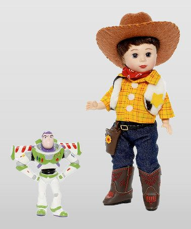 Take a look at this Jack Loves Toy Story Doll & Buzz Figurine by Madame Alexander on #zulily today!
