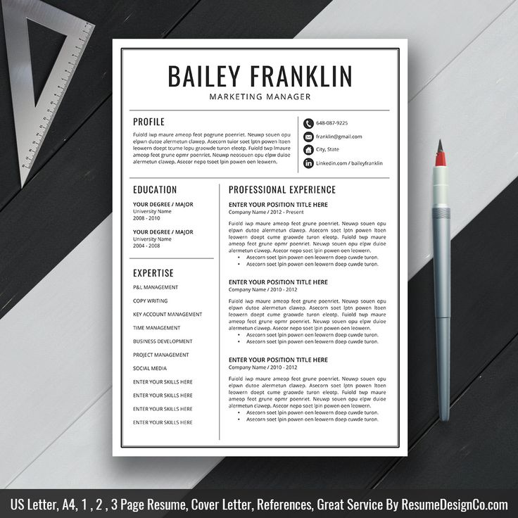 12 best Resume Template Designs images on Pinterest Resume - resume template designs