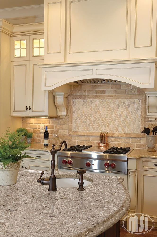 Captivating What Do You Think Of This Dream Kitchen? Featuring One Of Our Favorite New  Quartz. Cream Colored ...