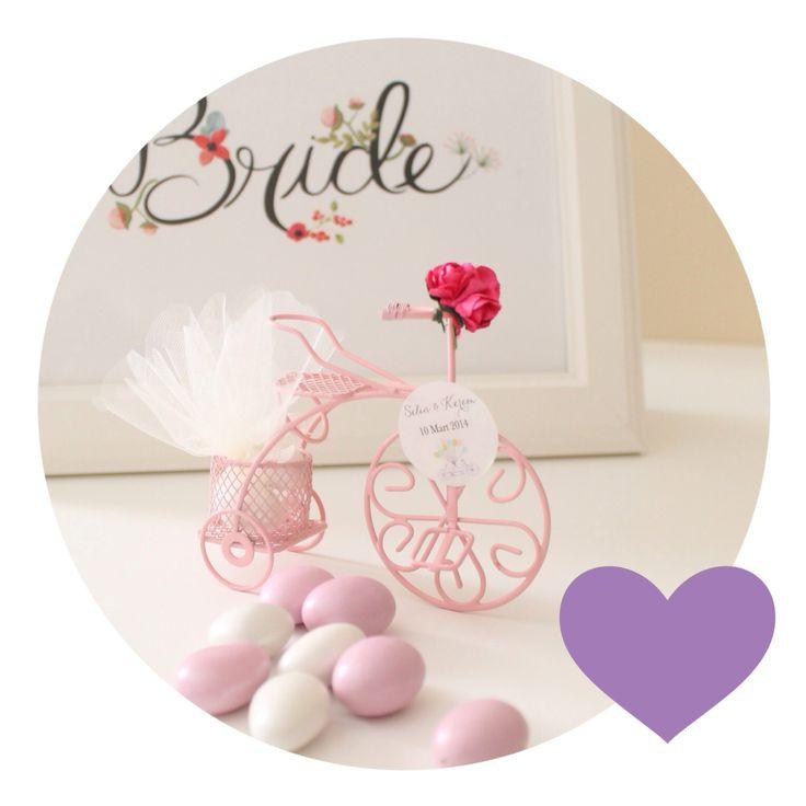 Bonbonelle Bisiklet Nikah Şekeri #nikahşekeri #nikahsekeri #düğün #dave #wedding