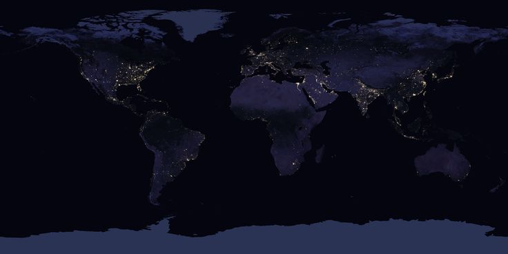 NASA veröffentlicht neue Satellitenaufnahme der Erde bei Nacht   heise online – Harri Harri