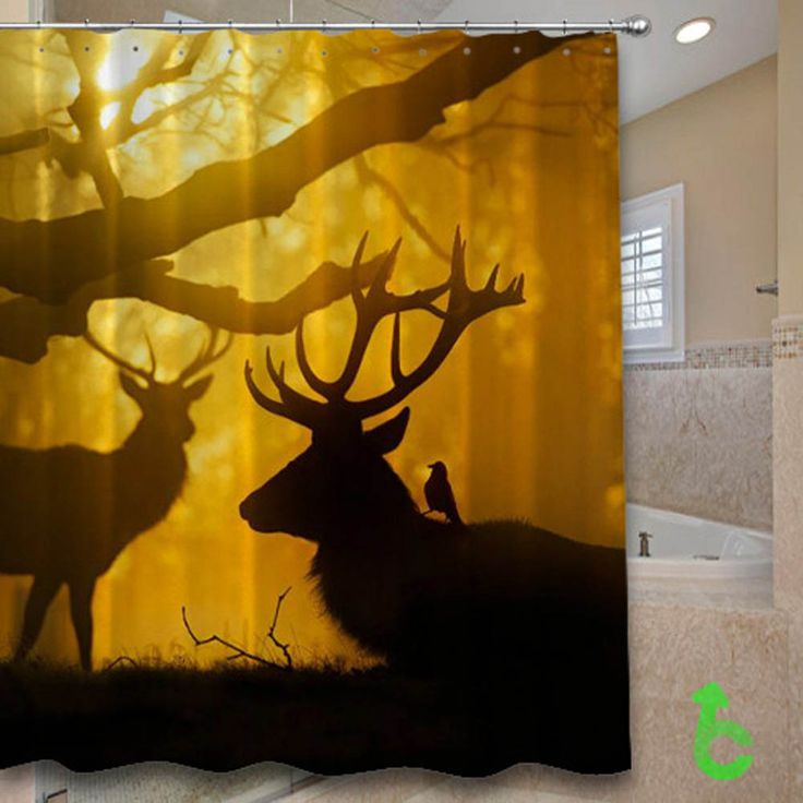 Cheap silhouette Stag and crows at sunset Shower Curtain cheap and best quality. *100% money back guarantee #Home_Decor #Home #Decor #Shower_Curtain #Shower #Curtain #Bathroom #Bath #Room #Bath_Room #eBay #Amazon #New #Top #Hot #Best #Bestselling #Best_Selling #Home&Living #Print #On #Print_on #Fashion #Trending #Woman #Man #Teenager #Cheap #Rare #Limited #Edition #Limited_Edition #Unbranded #Generic #Custom #Design #Beautiful #Cool #Accessories #Master #Piece #Luxury #Elegant #Gift…