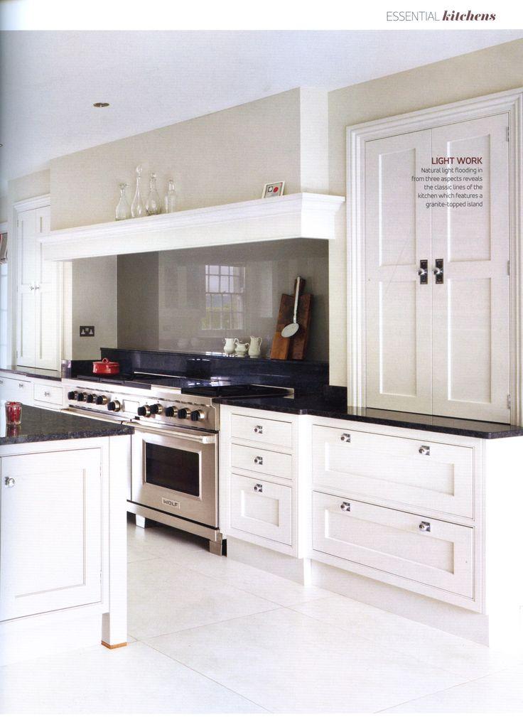 Classic Open Plan Martin Moore Kitchen Case Study Essential Kitchen Bathroom