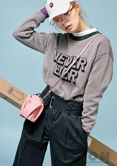 Lee Yu Jin by Kim Yeon Je for Nylon Korea Apr 2017