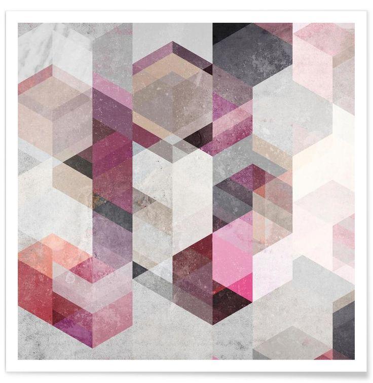 Nordic Combination 22 Y as Premium Poster by Mareike Böhmer | JUNIQE