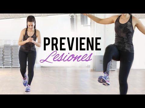 Fortalece rodillas y tobillos | Ejercicios para prevenir lesiones - YouTube