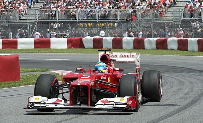 G.P. de Canadá: Fernando Alonso intentó jugársela a una parada y no salió bien. Acabó quinto y cede la general a Hamilton.