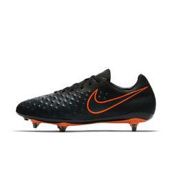 NoneМужские футбольные бутсы для игры на мягком грунте Nike Magista Onda II помогут перевести игру на новый уровень благодаря непревзойденному касанию и контролю мяча.