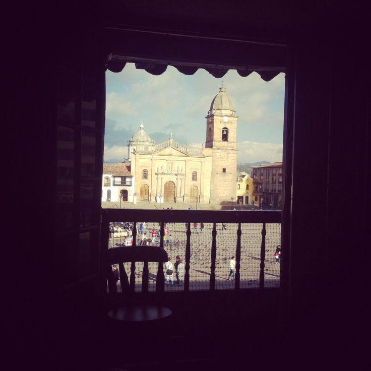 El balcón #Tunja
