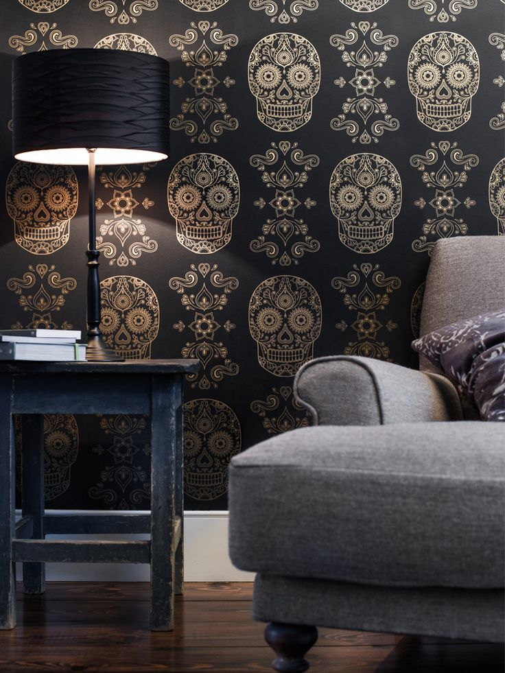 http://www.anatomyboutique.com/product/mexican-day-of-the-dead-sugar-skull-wallpaper
