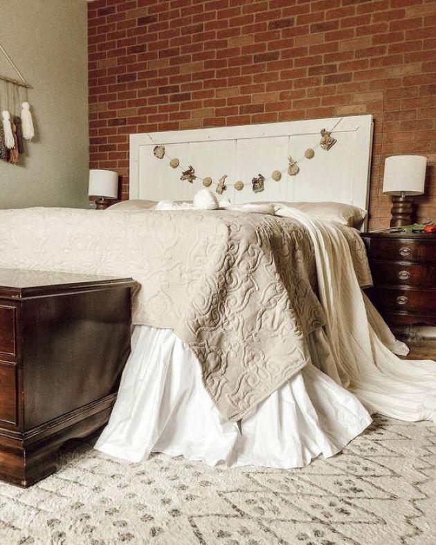 33++ Faux brick wall bedroom ideas