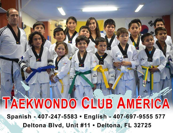 At Taekwondo Club America you can learn Kyorugui + after-school programs. Master Francisco Fiallos | 407-247-5583 www.facebook.com/TaekwondoClubAmerica