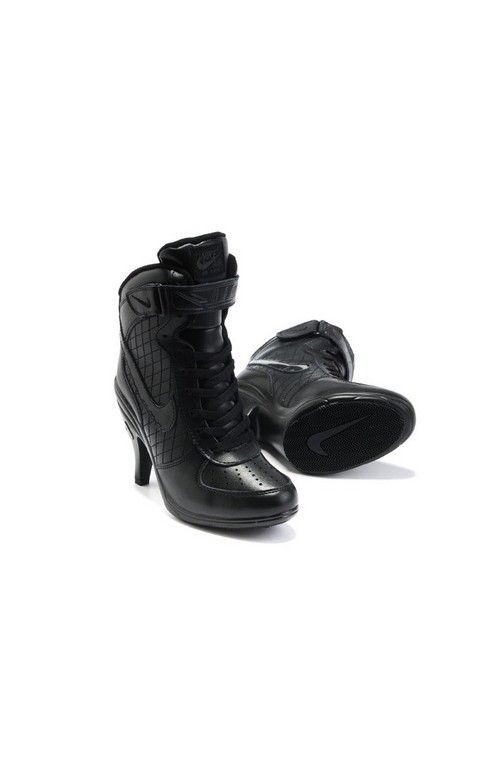 Cheap 2013 Nike Air Force High Heels Black For Women, Nike High Heels We  Offer All Kinds Of Nike High Heels Shoes ...