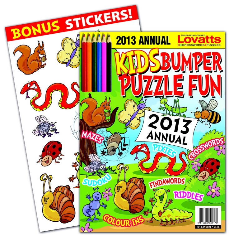 Kids Bumper Annual - The perfect gift for junior puzzlers