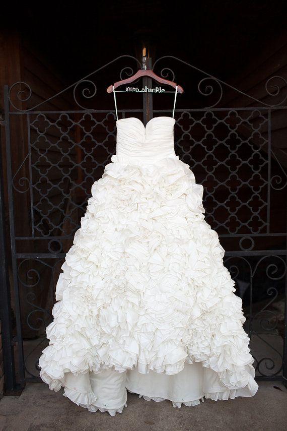 Wedding Dress Inspired by Monique Sunday by bridalblissdesigns