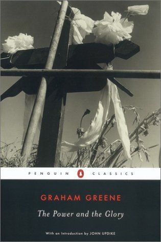 The Power and the Glory (Penguin Classics) by Graham Greene, http://www.amazon.com/dp/0142437301/ref=cm_sw_r_pi_dp_1X4trb148A4GY