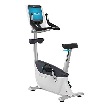 Fitness Bikes | UBK 885 Upright Exercise Bike | Commercial Fitness Equipment | Precor
