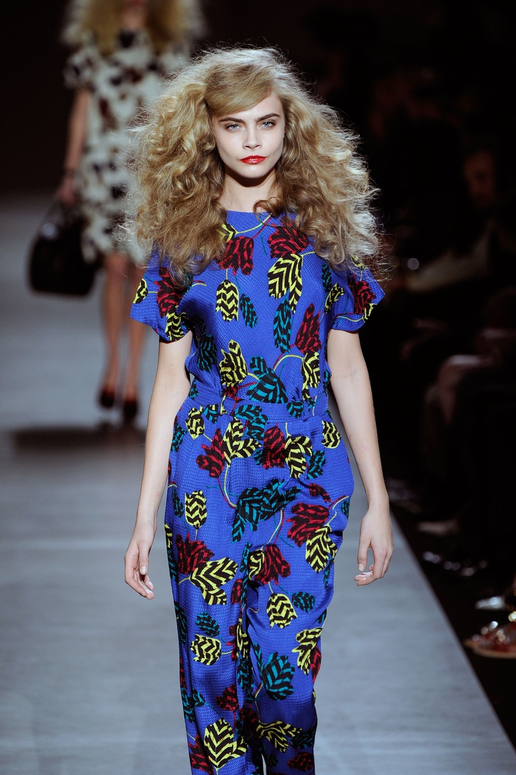 Big Hair at Marc Jacobs a/w 2013