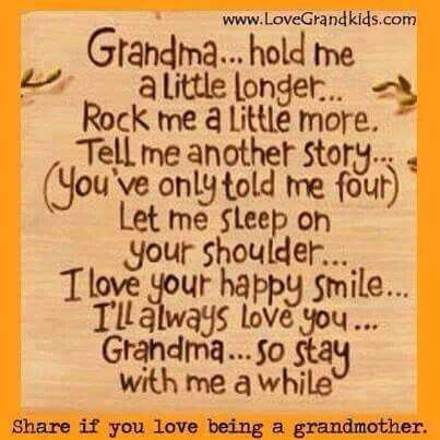 Could turn this into a nice mothers day gift from the grandkids. Love this saying.