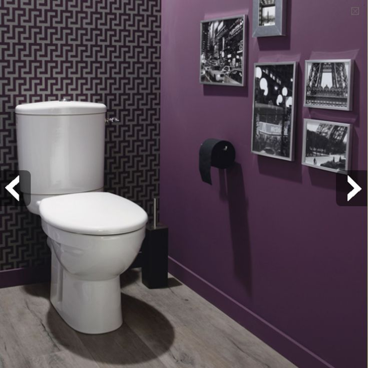 11 best water closet images on Pinterest Bathroom, Half bathrooms - Comment Decorer Ses Toilettes