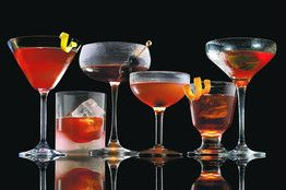 I've been on a Manhattan kick lately...getting bored with my usual drinks.: Journals Covers, Classic Cocktails, Manhattan Projects, Drinks Recipes, Manhattan Recipes, Manhattan Cocktails, Wall Street Journals, Manhattan Variations, Cocktails Recipes