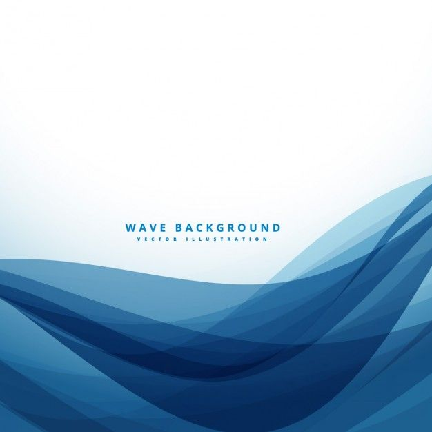 Free vector Abstract background with dark blue waves #33627