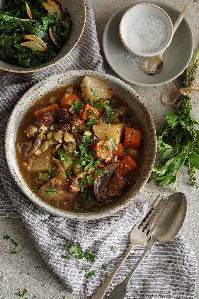 Hearty Irish Lamb Stew {AIP, GAPS, SCD, Paleo} – Healing Family Eats