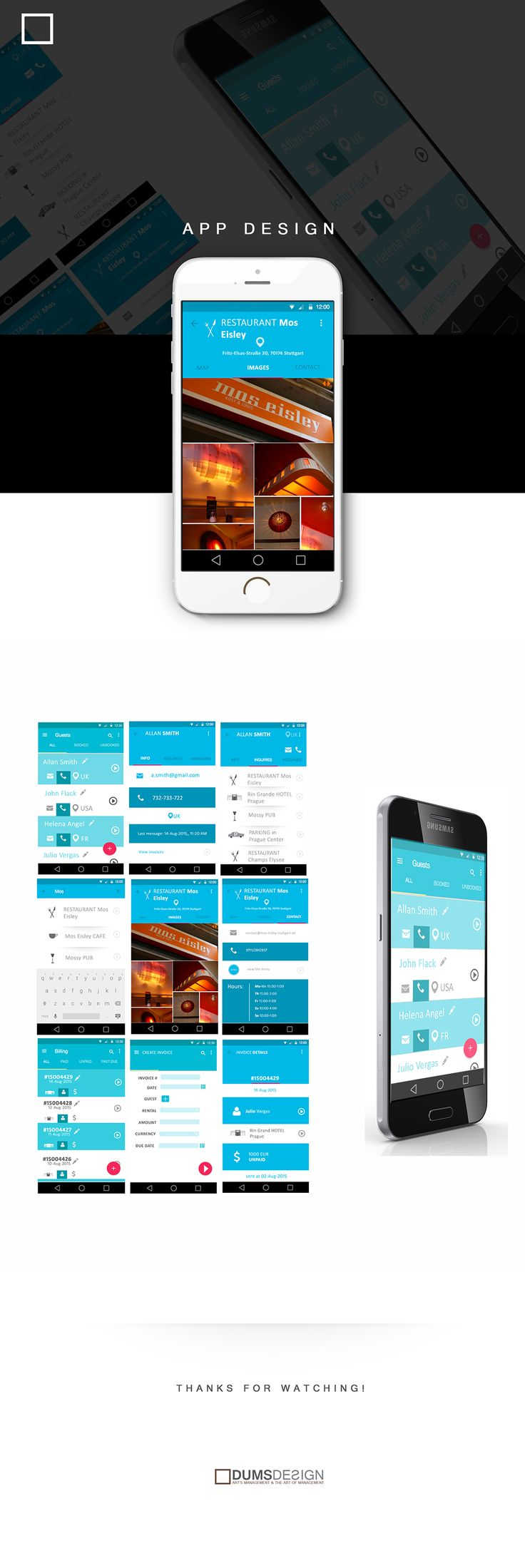 Tourist App Design on Behance