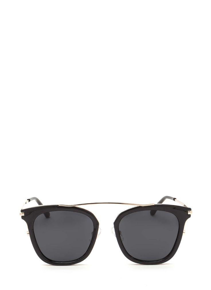 Storm Black Sunglasses with Stud Pattern Side gfhF41