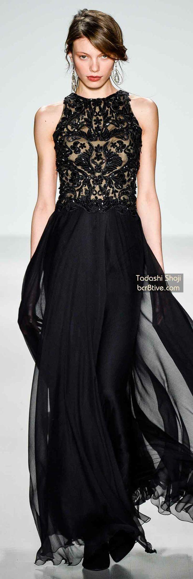 Tadashi Shoji FW 2014 #NYFW >> Margaery Tyrell mourning dress