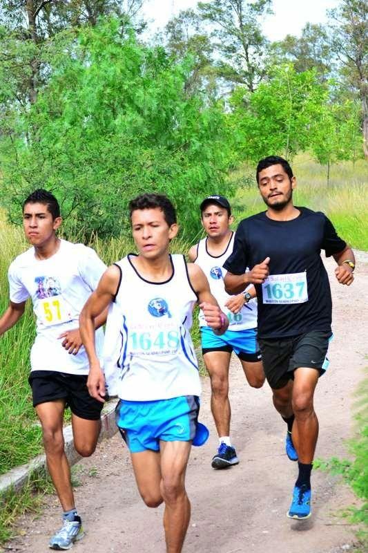 Convocatoria carrera de relevos en la comunidad Nazario Ortíz Garza ~ Ags Sports