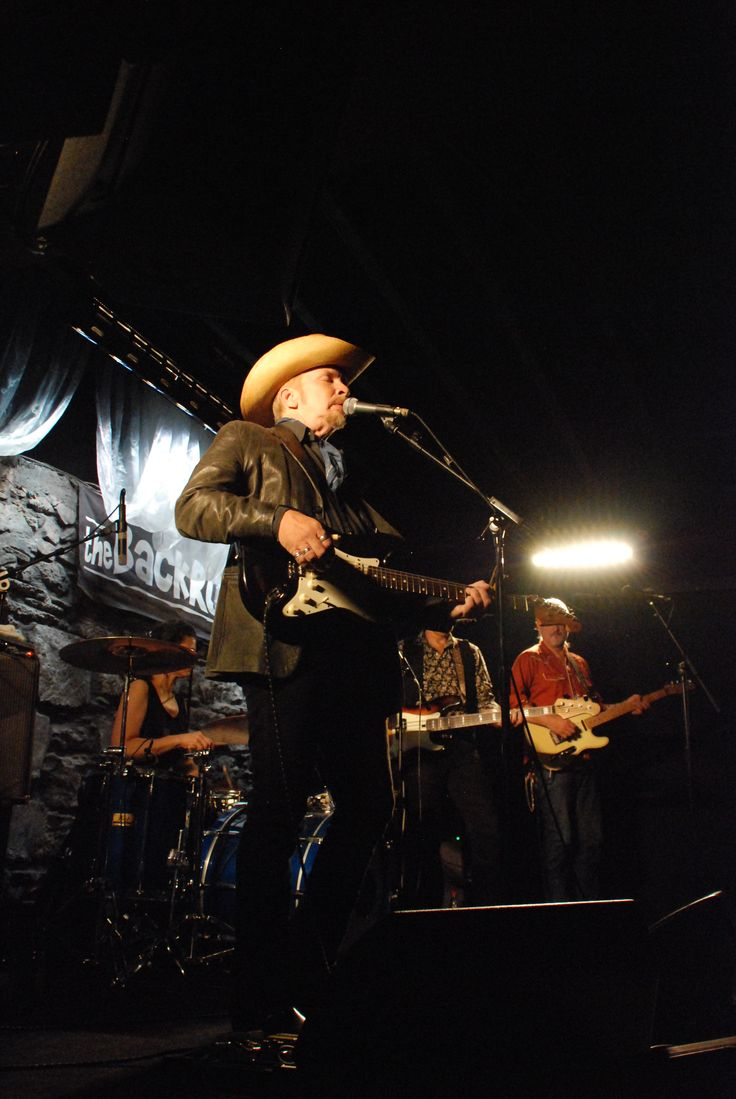 Dave Alvin performs in The Backroom at Mc Grory's of Culdaff