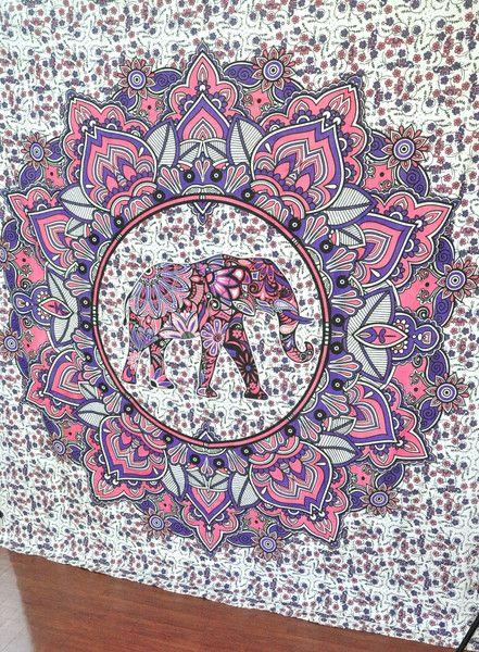 elephant wall tapestries