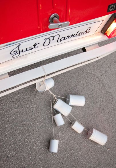 Just Married custom made car sign- Mitheo Events | Concept Events Styling