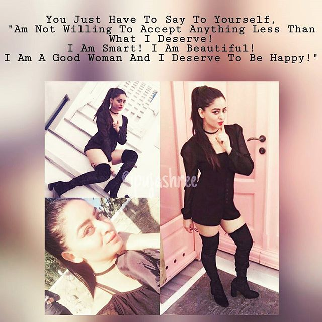 """Top 100 strong women quotes photos You Just Have To Say To Yourself, """"Am Not Willing To Accept Anything Less Than What I Deserve! I Am Smart! I Am Beautiful! I Am A Good Woman And I Deserve To Be Happy!"""" #Motivation #Inspiration #MotivationalQuote #InspirationalQuotes #Quote #SelfLove #strongwomenquotes #goodwoman #ideservethebest #ideservetobehappy #MahhiVij #Tellywood #Actress👸"""