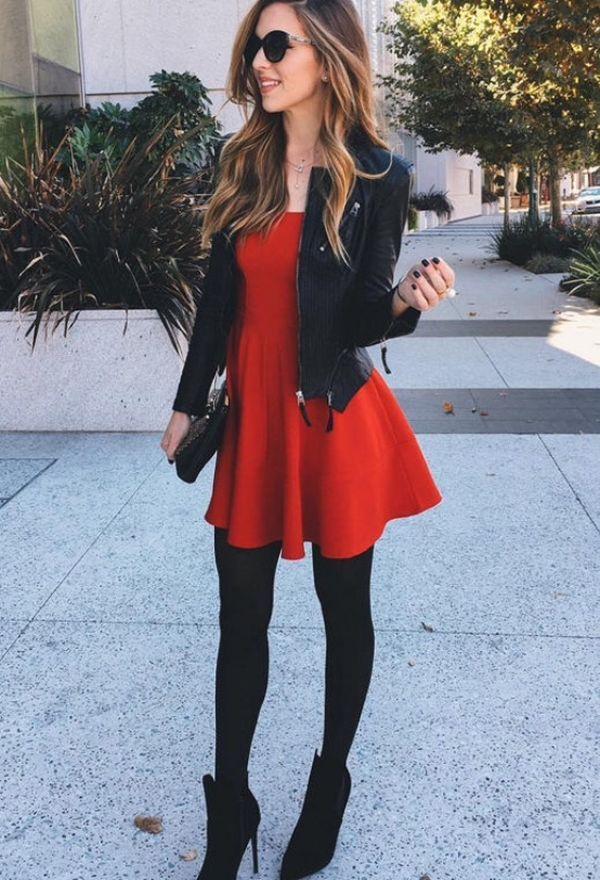 ¡Vestidos y Botas! Outfits de moda con vestidos