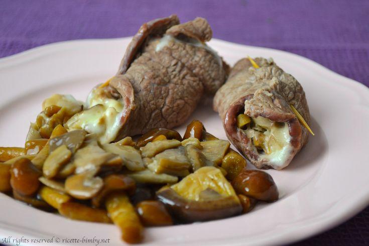 Cerchi una semplice per preparare degli involtini di carne sfiziosi? Scopri la ricetta per il bimby degli involtini di vitello ripieni di funghi e formaggio.