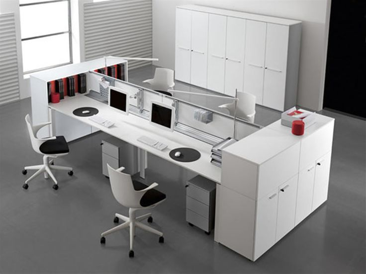 Best 25 Contemporary office desk ideas on Pinterest