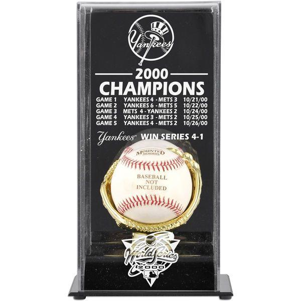 New York Yankees Fanatics Authentic 2000 World Series Champions Baseball Display Case - $49.99